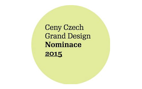 Nominace na Czech grand design 2015
